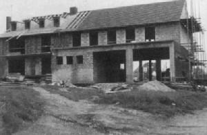 Gerätehaus Rohbau